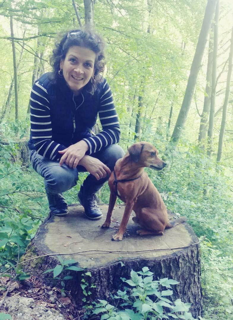 Tierärztin Sabine Wagner mit Awo